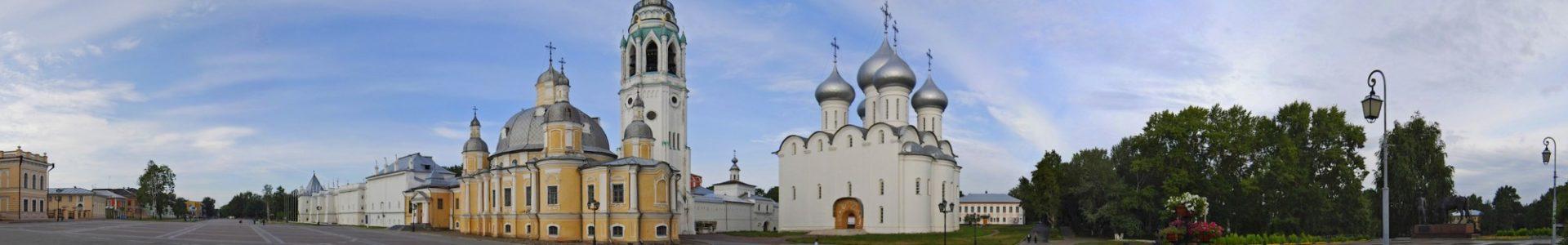 Воскресенский и Софийский Успенский кафедральный собор г. Вологды