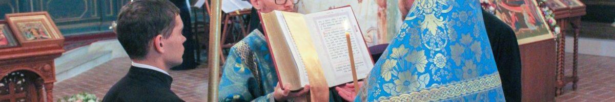 Воскресное богослужение в Софийском соборе в Неделю 11-ю по Пятидесятнице